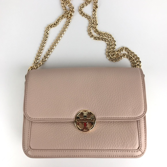 889ce6fd414 Tory Burch Duet Chain Convertible Shoulder Bag. M 5b4e7bbda31c33777537be6e
